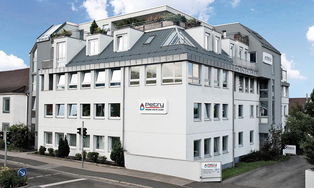 Petry AG - Wärmetechnik, Kältetechnik und Klimatechnik für Gebäude